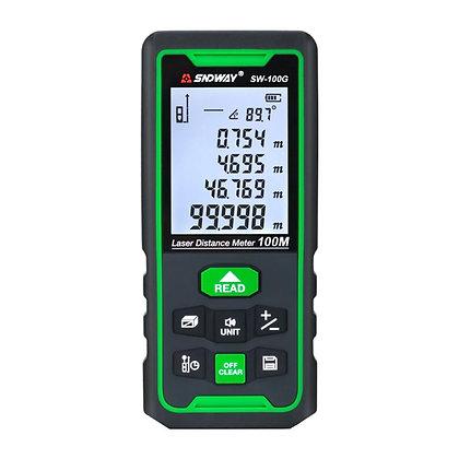 Medidor de Distancia Láser 100m - Láser Verde
