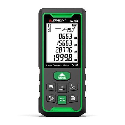 Medidor de Distancia Láser 50m - Láser Verde