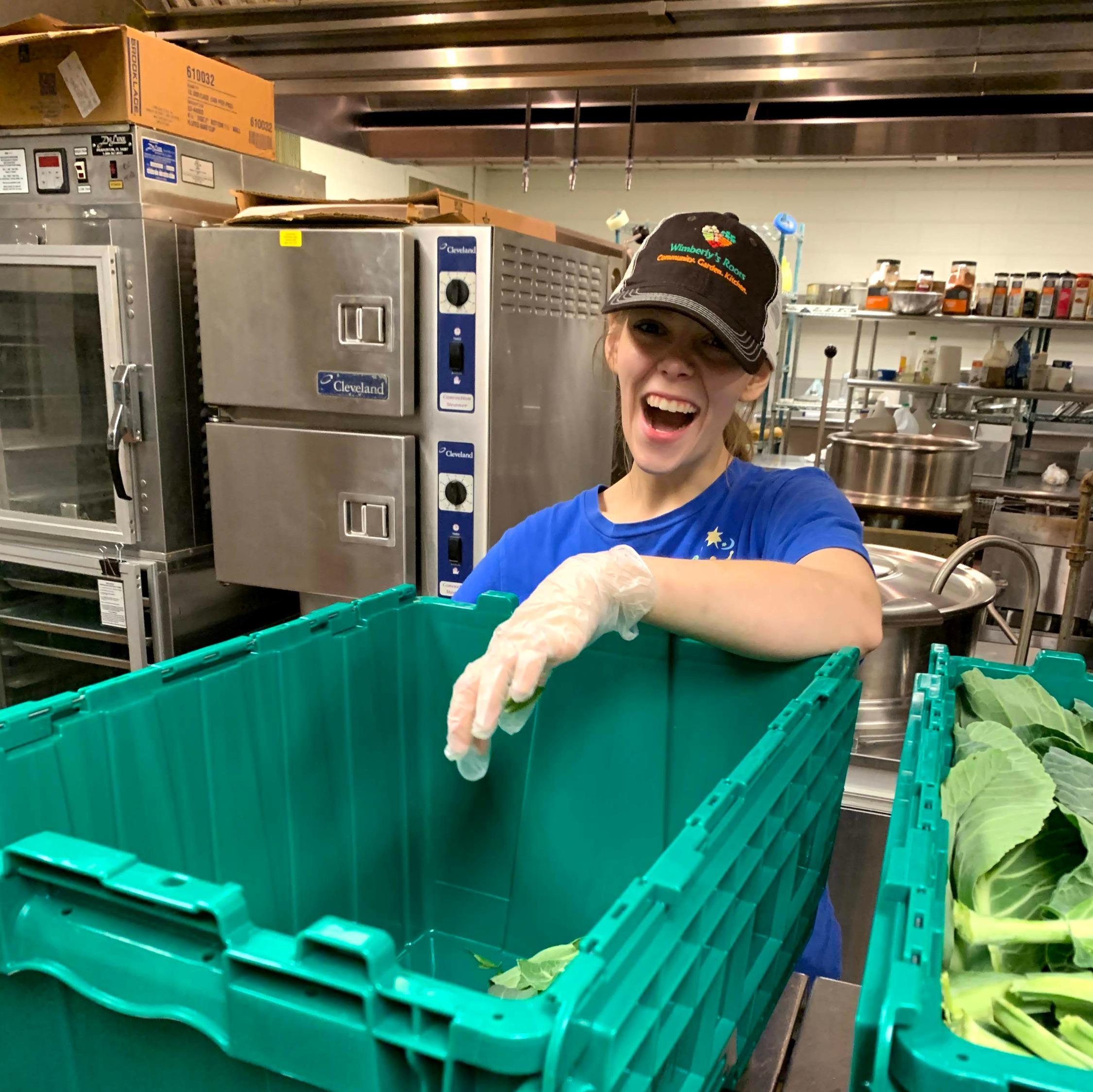 kitchen project safe volunteer