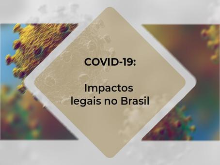 COVID – 19: Impactos legais no Brasil – V.31