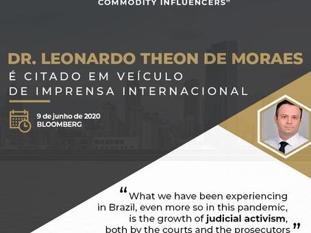 Dr. Leonardo, sócio-fundador do TM Associados, é citado na Bloomberg.