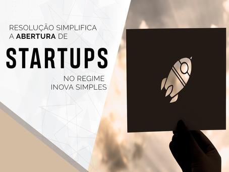 Resolução simplifica a abertura de startups!