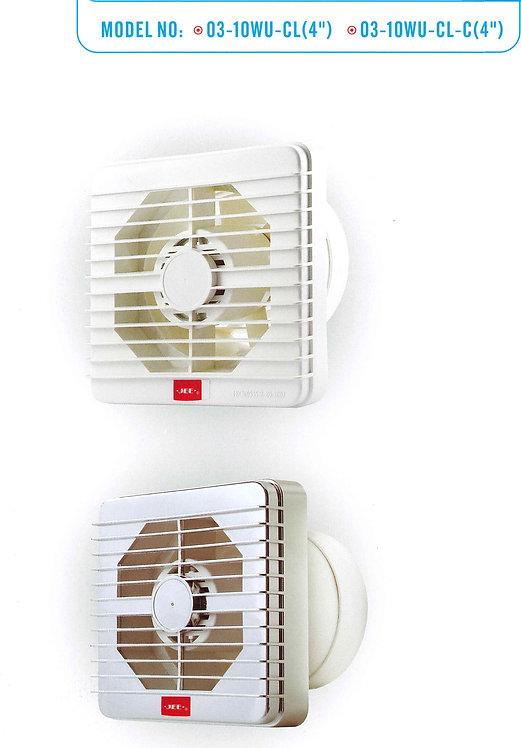 金瑞典方形抽氣扇(網罩型) JEE Square Ventilating Fan (Louver Type)
