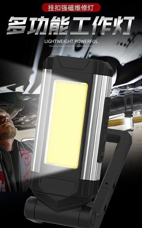 USB充電LED 多用途強磁鐵工作燈/野營燈Hanging strong mangnetic maintenance lamp