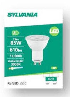 喜萬年SYLVANIA  7W GU10 LED射膽  SYLVANIA  7W GU10 LED Bulbs