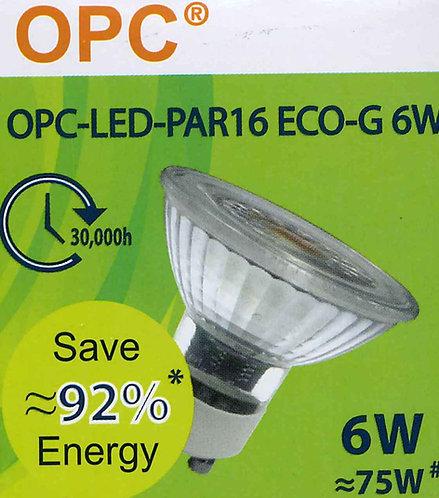 OPC LED GU10  燈泡 OPC-LED PAR16  ECO-G 6W