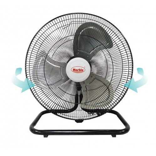 孖寶牌搖擺地台扇(四段風速) Marble Floor fan (Swing Type)(4-Speed Selection)