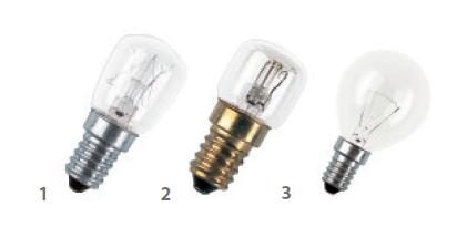 Osram 鎢絲燈指型膽/焗爐燈泡 (歐洲製造) Osram Incandescent Special/Pygmy(Europe Origin)
