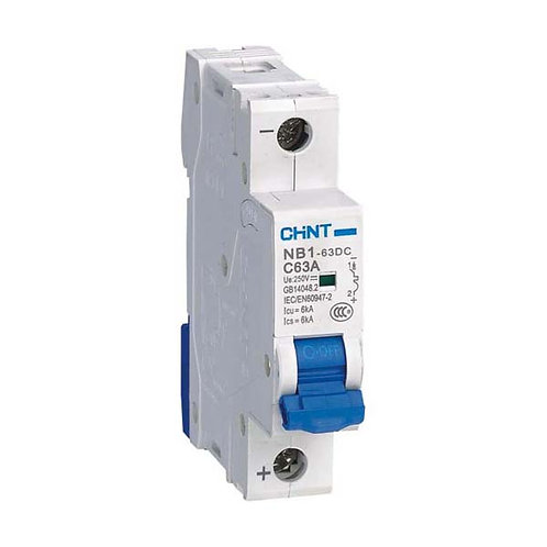 正泰 MCB NB1-63 微型斷路器 6 kA Miniature Circuit Breaker 6kA, 1~4Pole