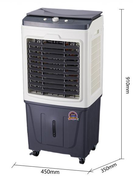 楊能牌4000m³/ h風量高水箱玻璃蓋帶冰晶盒商用蒸發式冷風機  YXNY 4000m³/ h Air Cooler