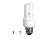 Osram管型電子慳電膽 (中國製造) Duluxstar Energy Saving Lamp (China Origin)