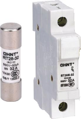 正泰 Fuse Holder & fuse link 單位熔斷器座及熔斷器