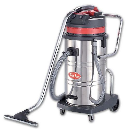 超寶牌 吸塵吸水機 80升不鏽鋼桶(千秋架) 商用ChaoBao Stainless Steel Wet And Dry Vacuum Cleaner(Tilt