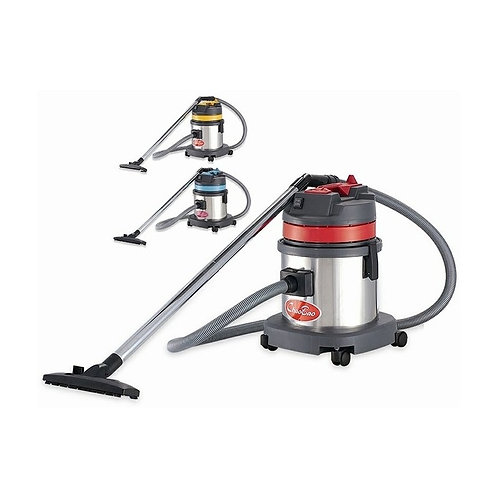 超寶牌不鏽鋼桶吸塵吸水機 15升  ChaoBao Wet And Dry Vacuum Cleaner(Stainless Steel)