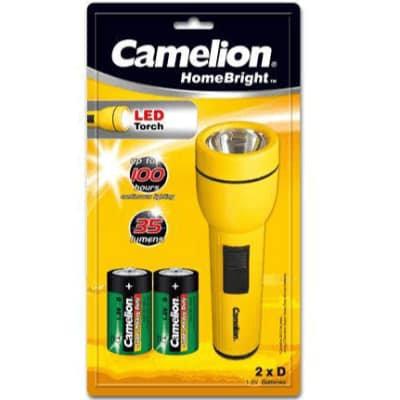 Camelion LED 2A/2D 電筒  Flashlight