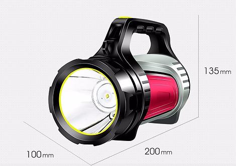 神魚牌可充電戶外強光LED手電筒 SHENYU LED Glare portable searchlight