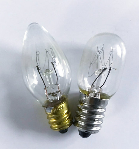 雪櫃膽  Transparent light bulbs