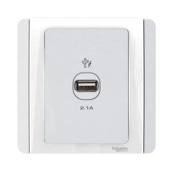 施耐德USB 2.1A充電插座 Schneider 2.1 USB Charger Socket