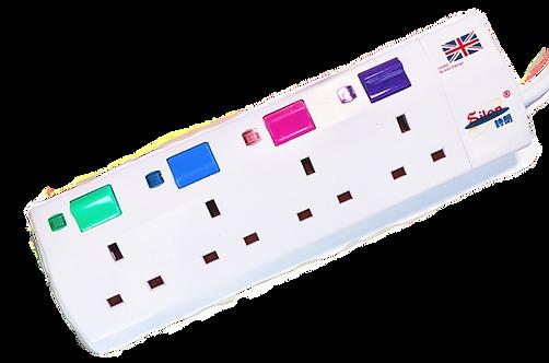 詩朗13A大板獨立開關拖板 Silon 13A Extension Socket