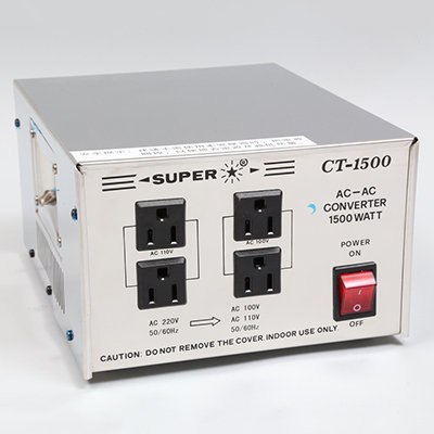 Super不鏽鋼變壓火牛 Super Voltage Converter(Stainless bodys )