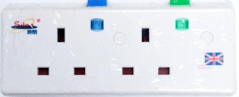 詩朗13A獨立細開關淨板(不帶電線插頭拖板)Silon 13A Extension Socket(without cable & 13A plug)