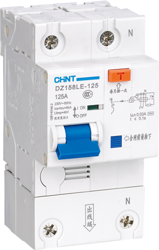 正泰 RCBO 帶過載漏電斷路器 (63A至100A適用)