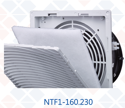 正泰 進風風扇及進風濾網 CHINT Fan& Inlet Filter