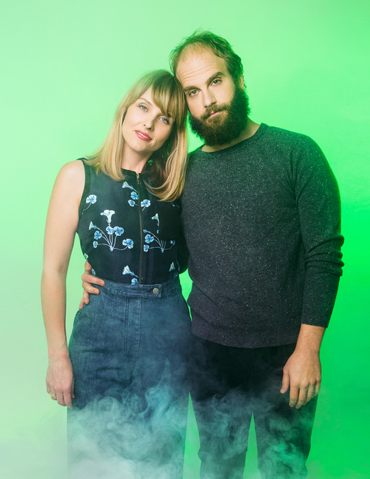 Katja Blichfeld and Ben Sinclair