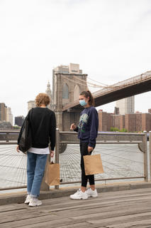1st stop for great city skyline and brooklyn bridge backgrounds