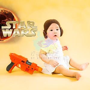 Baby Milestone (Star Wars) Session