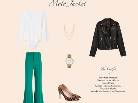 1 Item 3 Ways: Moto Jacket