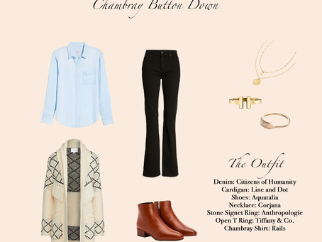 1 Item 3 Ways: Chambray Button Down
