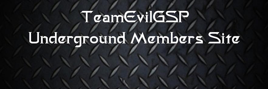 TeamEvilGSP Underground Members Site (1)