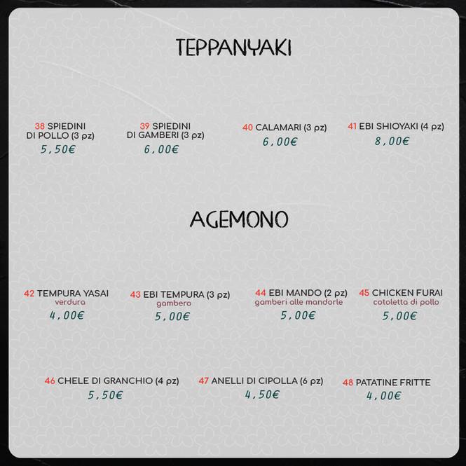 TEPPANYAKI-AGEMONO