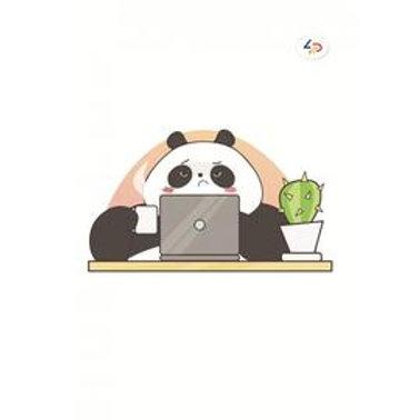 "Блокнот ""Панда на работі B6"""
