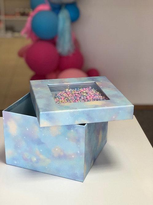 Коробка с шариками Пудра