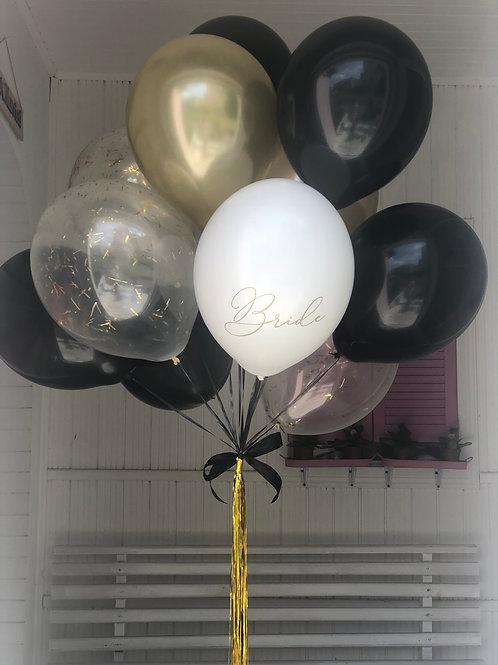 Букет на девичник 15 шариков
