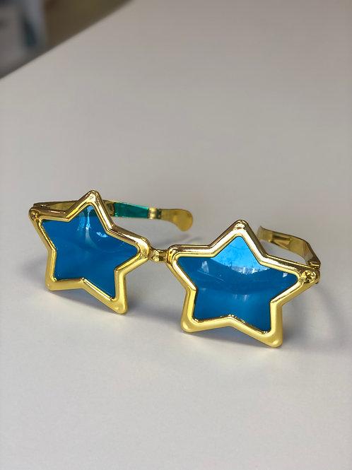 Очки Гигант Звезда золото