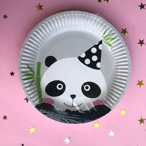 Тарелочки Панда, 8 шт