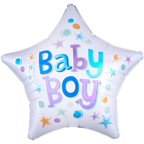 Шар Звезда для мальчика