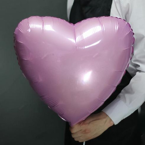 Шар сердце пастель