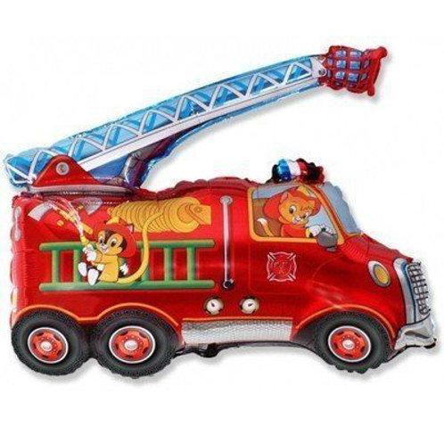 Шар пожарная машина с гелием