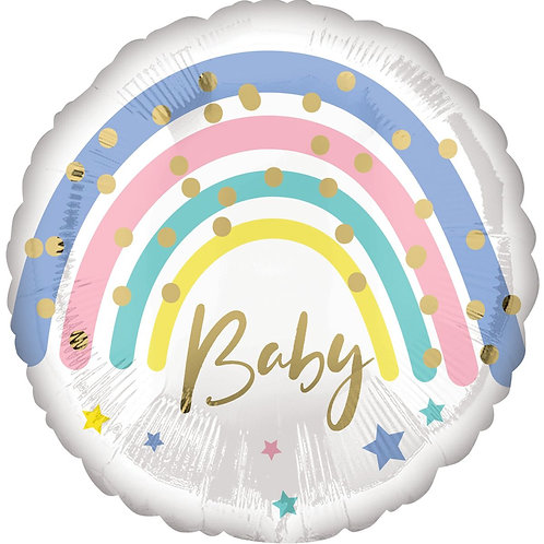 Круг Радуга baby пастель