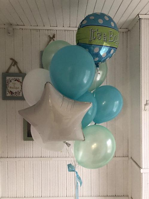 Букет 10 шариков