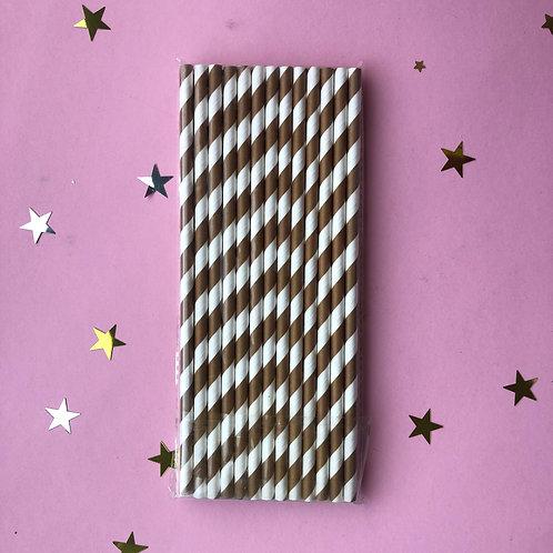 Трубочки шоколадные, 24 шт
