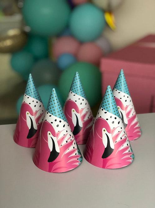 Колпаки Фламинго, 8 шт