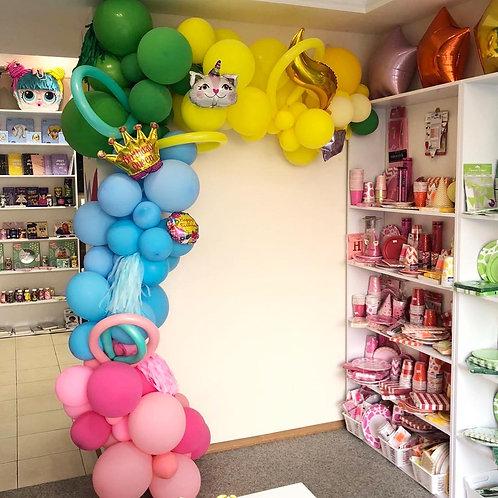 Оформление торогового зала нашего магазина