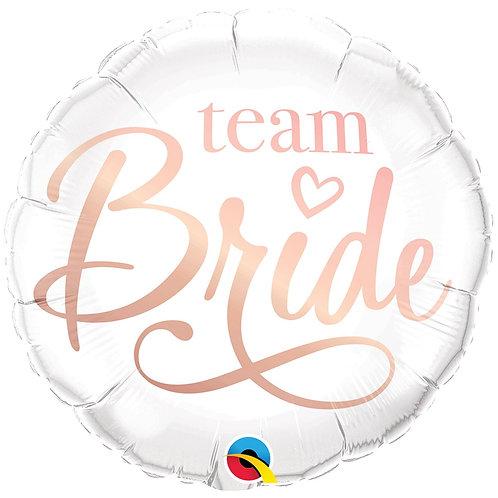 Круг Team Bride с гелием