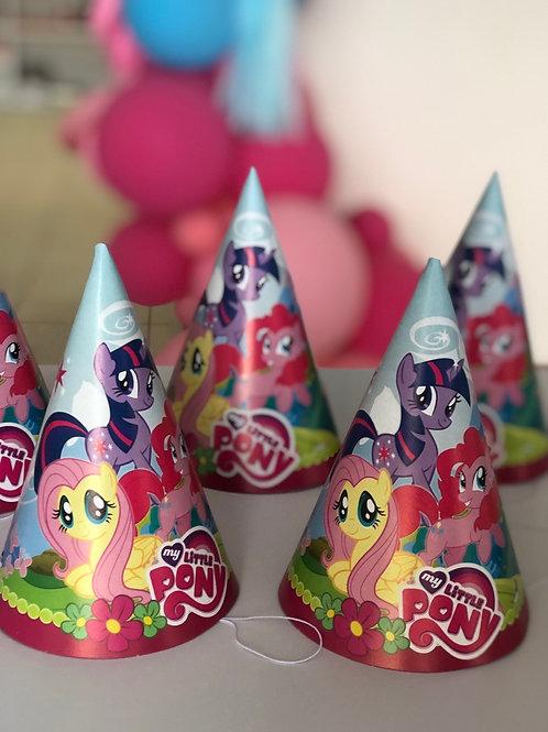 Колпачки My little pony, 6 шт