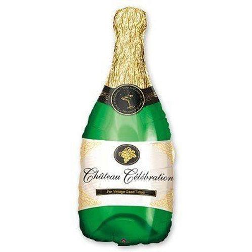 Шар Бутылка Шампанского с гелием